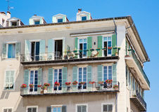 FRANCE. Old town architecture of Nice on French Riviera Royalty Free Stock Images