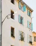 FRANCE. Old town architecture of Nice on French Riviera Stock Photos