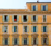 FRANCE. Old town architecture of Nice on French Riviera Stock Photography