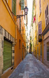 FRANCE. Old town architecture of Nice on French Riviera Stock Image