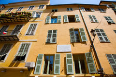 FRANCE. Old Town Architecture Of Nice On French Riviera Royalty Free Stock Photos