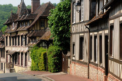 France, the old village of  Lyons la Foret Royalty Free Stock Image