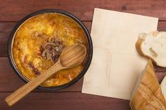 France Onion soup Stock Photo