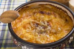 France Onion soup Stock Photography