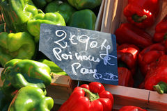 France - Orange - Market Royalty Free Stock Image