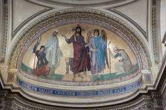france pantheon paris Arkivfoton