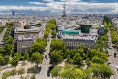 france paris Arkivbilder