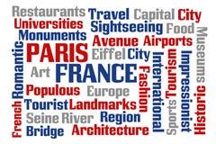 france paris Arkivbild