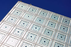 France, Paris; Arab world institut Stock Photography