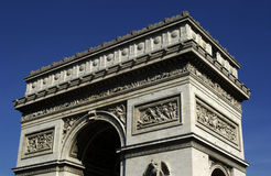 France, Paris, Arc de Triomphe Stock Image
