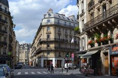 Paris streets. royalty free stock images