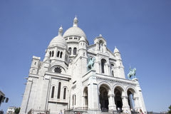 France,Paris,Basilique Du Sacre Coeur Royalty Free Stock Photos