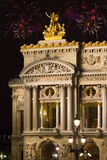 France. Paris. A building the Grand Opera Royalty Free Stock Images
