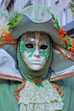 France. Paris: Celebration of the grape harvest. Of Montmartre. Beautiful and colorful venetian mask royalty free stock images
