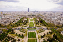 France Paris Champ de Mars. Park Royalty Free Stock Image