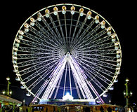 France, Paris: Concorde square. Big wheel at Christmas time royalty free stock image