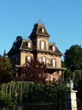 France. Paris euro Disney house royalty free stock images