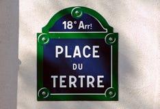 France, Paris: famous square. Of paris, Sacre Coeur, Place du tertre stock image