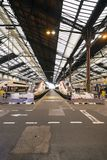 France, Paris, Gare de Lyon, January 2019: High speed trains parked at the train station stock photos