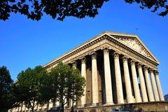 France; Paris; a igreja de Madeleine fotografia de stock royalty free