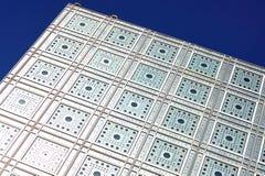 France, Paris; Institut árabe do mundo fotografia de stock
