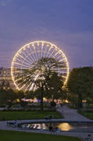 France - Paris - Jardin des Tuileries  Royalty Free Stock Image