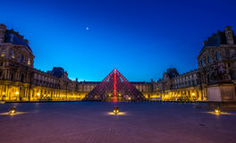 France paris louvre Royalty Free Stock Photos