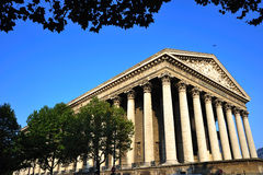 France; Paris; the Madeleine church Royalty Free Stock Photography