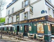 France, Paris, Montmartre,  Cabaret restaurant La Bonne Franquette Royalty Free Stock Photo