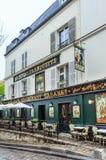 France, Paris, Montmartre,  Cabaret restaurant La Bonne Franquette Stock Photo