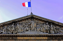 France, Paris: national assembly Stock Image