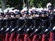 France - Paris national day parade Royalty Free Stock Photo