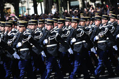 France - Paris national day parade Royalty Free Stock Photos