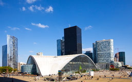 France, paris-New Paris- la defense Royalty Free Stock Image