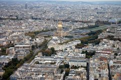 France, Paris: nice aerial city view montparnasse Stock Photos