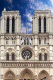 France. Paris. Notre-Dame Royalty Free Stock Photo