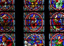 France, Paris: Notre Dame cathedral Royalty Free Stock Images
