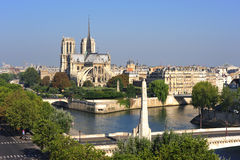 France, Paris: Notre Dame cathedral Stock Image