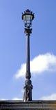 France, Paris: Old lamp-post Stock Photos