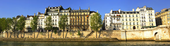 France, Paris: panoramic city view Stock Images
