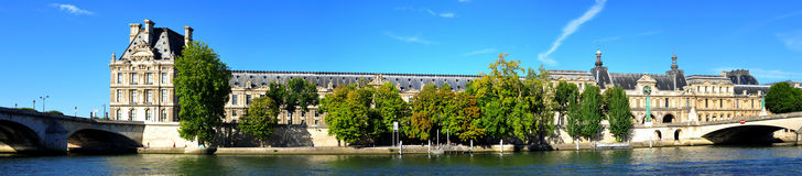 France, Paris: panoramic view Royalty Free Stock Photo