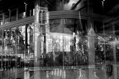 France - Paris reflection Royalty Free Stock Photos