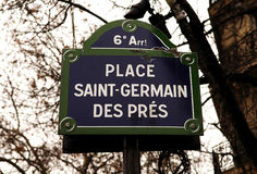 France, Paris: Saint Germain des pres stock image