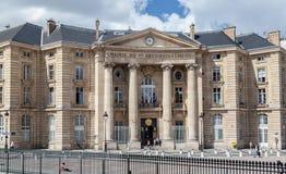 france paris sorbonneuniversitetar Royaltyfria Bilder