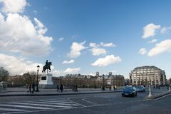 Place du Pont Neuf Royalty Free Stock Image