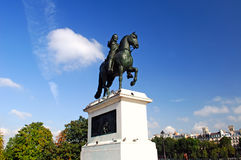 France, Paris: Statue of Henri IV Stock Photo