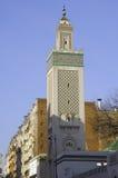 France; Paris; The Big Mosque In Paris Stock Photography