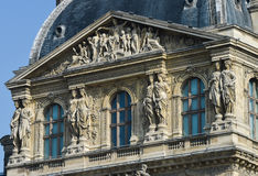 France, Paris, Tuileries Garden, Louvre Art Museum Royalty Free Stock Image