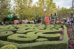 France Pavilion at Epcot. Orlando, Florida: December 4, 2017: France Pavilion at Epcot at Epcot at Walt Disney World.  Epcot opened in October 1, 1982 Stock Photos