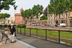 France - Perpignan Royalty Free Stock Photo